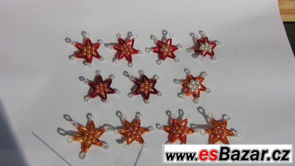 Prodám 50ks vánočních hvězd