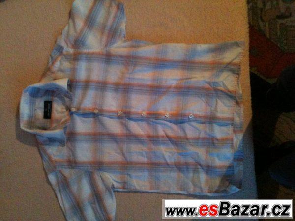 Prodám kostkovanou košili 8-11let