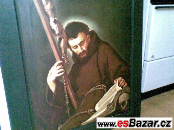 Prodám obraz sv. Fr. z Assisi
