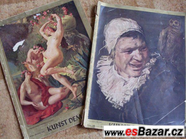 Prodám časopisy Kunst dem Volk
