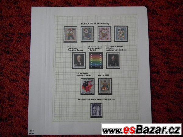 Prodám sbírku známek - Berlin
