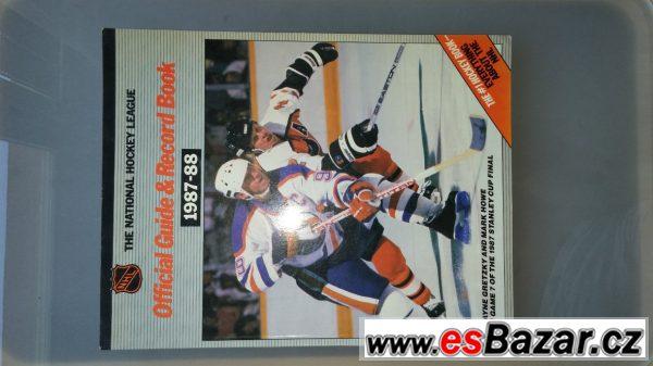 Prodám ročenky NHL z let 88-90