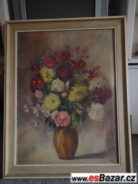 Prodám obraz od Joachim Thol 1972