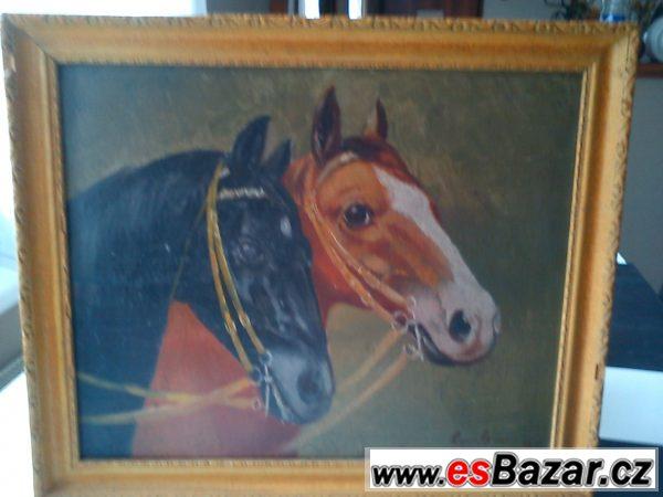 Prodám 2  200let staré obrazy
