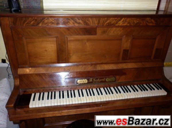 Prodám pianino Th. Gerhardt