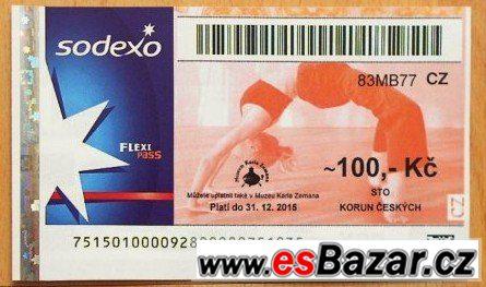 Prodám poukázky FlexiPass
