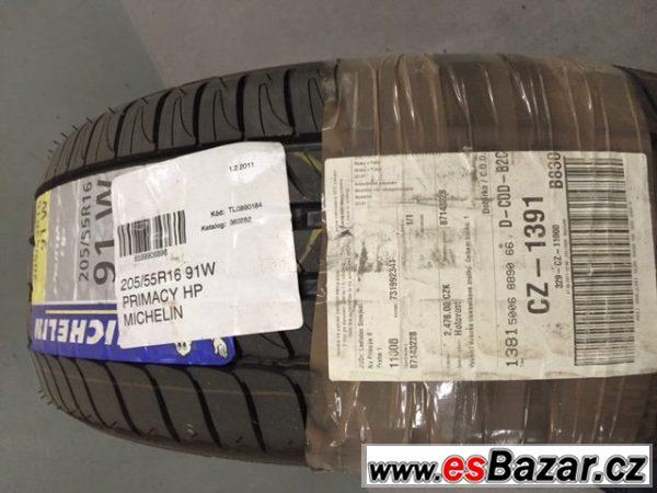 Prodám pneu Michelin 205/55R16