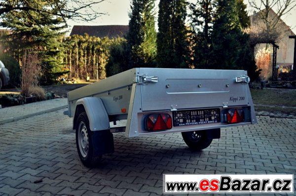 Přívěsný vozík 203x116cm sklopný