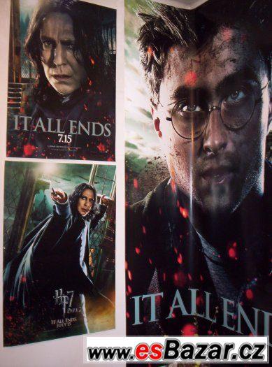 Obří plakát Harry Potter 250 x 160 cm
