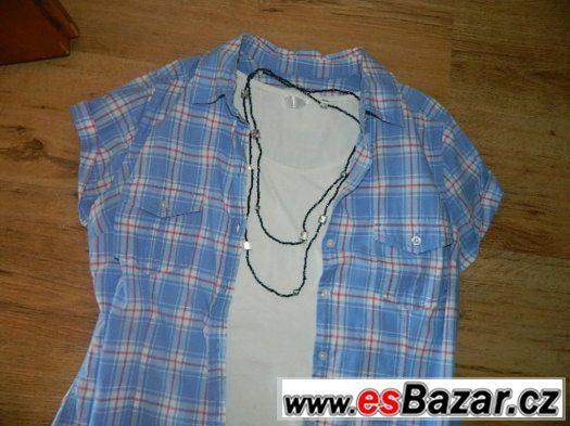 H&M moderní kostkovaná košile :-)