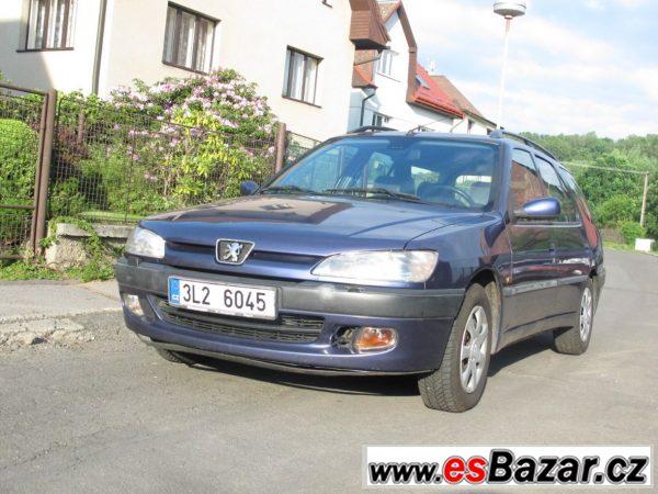 Peugeot 306 combi 1,6 benzín