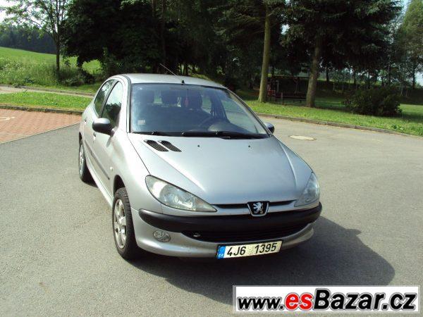 Peugeot 206 1.4i,  r.v.2001