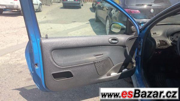 Peugeot 206 2.0i havarovaný