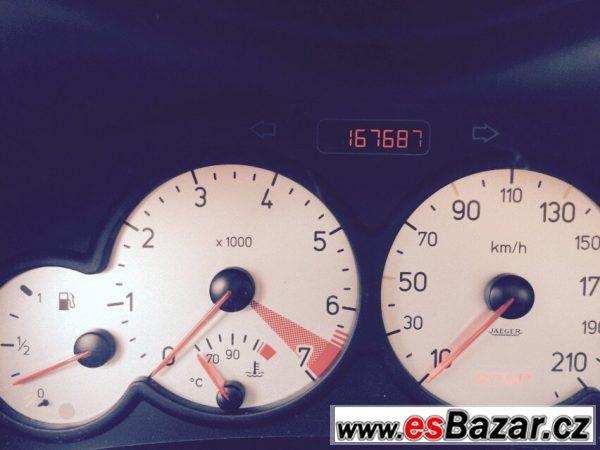 Peugeot 206 Kabriolet 1,6i