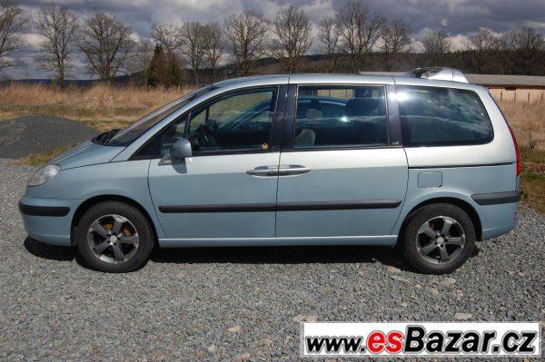 Peugeot 807 2,2HDi, 2005,130.000km