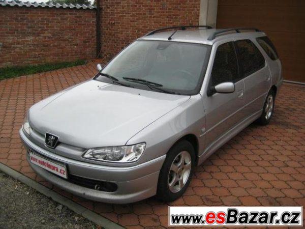 Peugeot 306, Combi 2.0 HDi TOP STAV, kombi, nafta