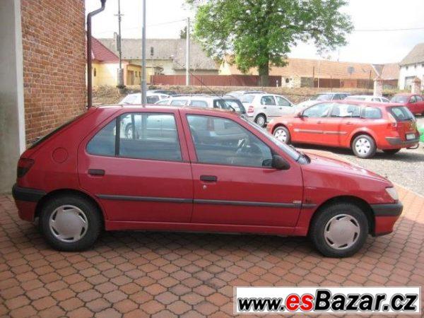 Peugeot 306, 1,4I XR EKODAŇ ZAPLACENÁ, hatchback,