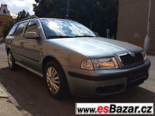 Prodám Škoda Octavia 1.9 TDI, 96 KW, ELEGANCE, r.v. 2003