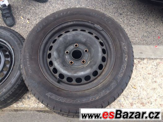 Disky 5x112 s pneu 195/65 R16 6 kusu