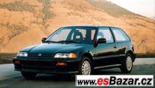 Koupím Hondu Civic/CRX Platné do smazání