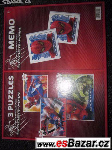 3x puzzle a pexeso Spiderman