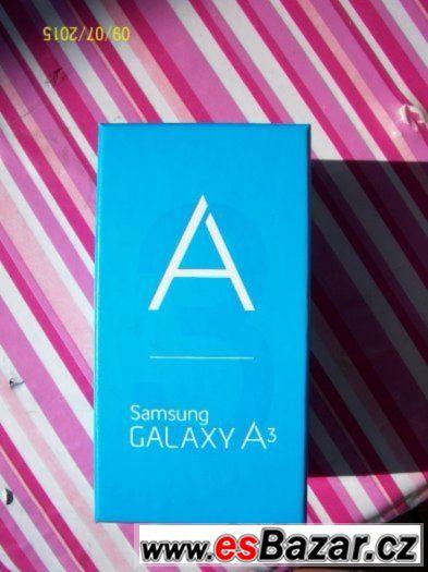 Samsung galaxy A3 black 16Gb novy, super cena