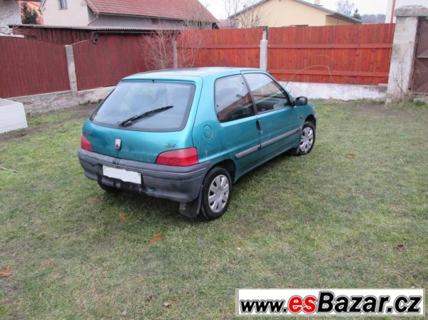 Peugeot 106, 1.1 44kw TOP STAV