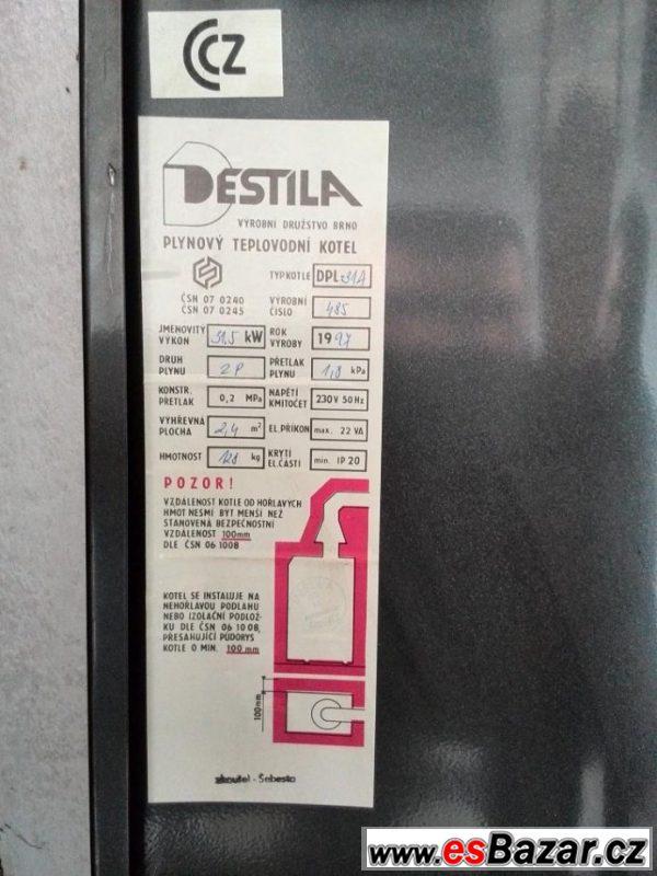 Plynový kotel Destila DPL31