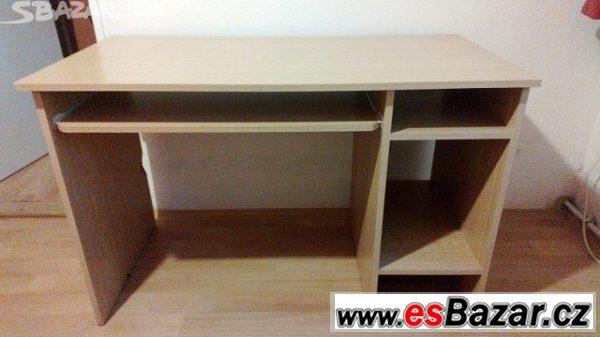 PC stůl, rozměr desky 120x60cm