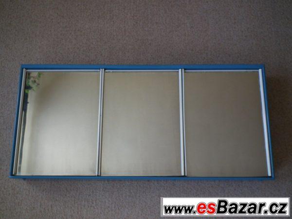 Plechová zrcadlová skříňka