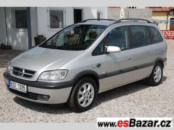 Opel Zafira, 2.0DTi 74kW Elegance, kombi, nafta