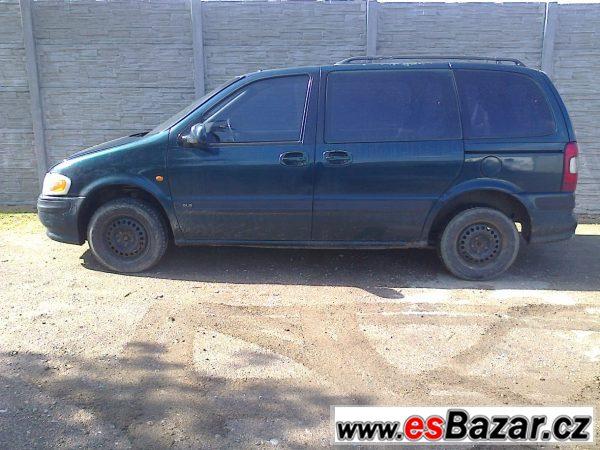 Opel Sintra 2,2 DTi na náhradní díl