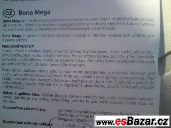Podlahový polomat Bona Mega, 2ks