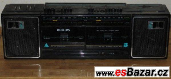 Philips radio / kazeta