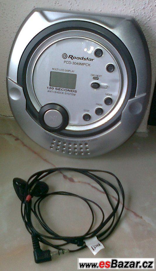 Osobní MP3 a CD přehrávač