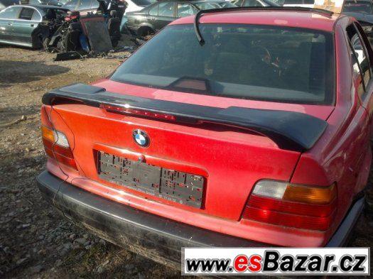 BMW e36 M-Packet křídlo