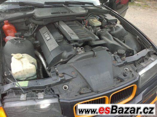 BMW e36 motor 323i (KIT NA ZÁSTAVBU)