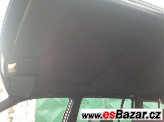 BMW e36 Touring černá stropnice šíbrová