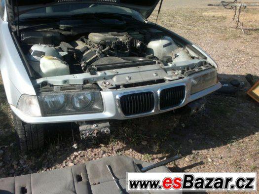BMW e36 facelift maska