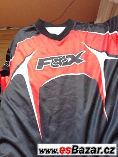 Prodám Motorkářský Dres Fox