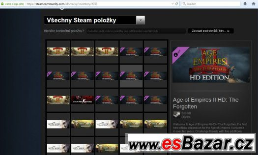 PC hry - Counter Strike/Age of Empires II HD/Witcher I,II