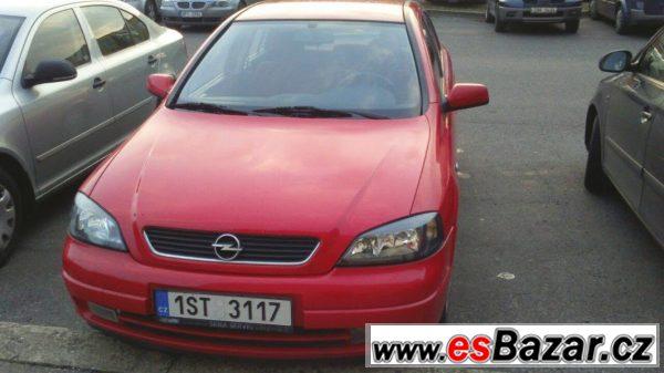 Opel Astra G - červená
