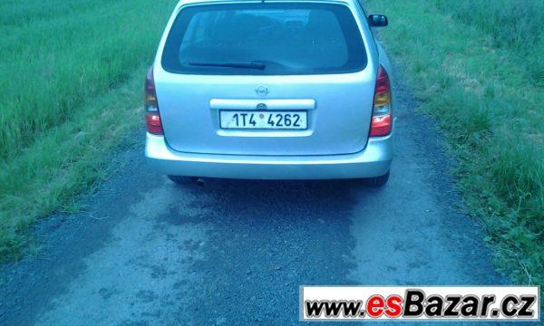 Opel Astra G 2.0DI, nová STK