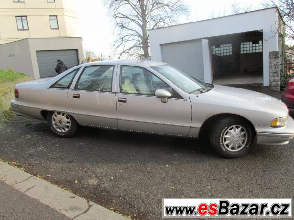 Ojedinělý Chevrolet z US vyslanec.