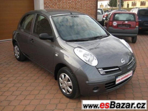 Nissan Micra, 1,2i ČR,serviska,KLIMA, hatchback,