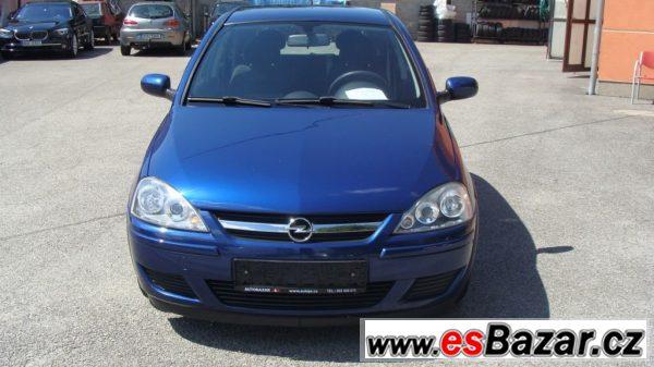Opel Corsa, 1.0 SERVISNÍ KNÍŽKA KLIMA, hatchback,
