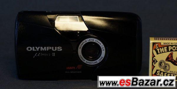 OLYMPUS Mjů II - výborný fotoap.