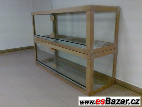 Nové terárium 150x50x60cm