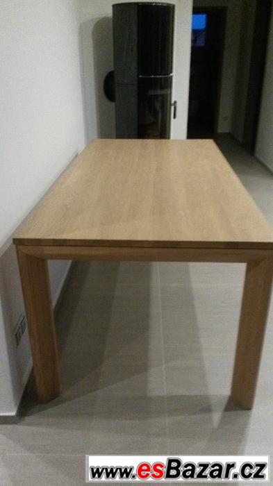 Nový stůl - dub bělený