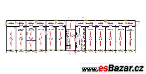 Obytné kontejnery - stavební buňky